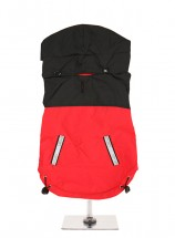Urban Pup Red & Black Windbreaker Coat