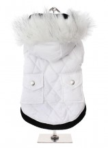 Urban Pup Snow White Parka Hooded Coat