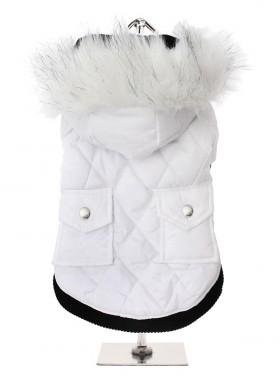 Urban Pup Snow White Parka Hooded Coat