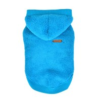 Puppia Blue Fleece Willa Sweater