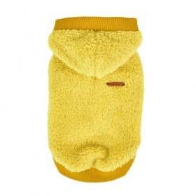 Puppia Yellow Fleece Willa Sweater