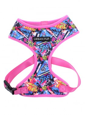 Urban Pup Grafitti Harness