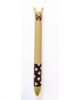 Cute Pop Up Pug Ballpoint Black Pen
