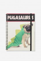 A5 Pugasaurus Notebook