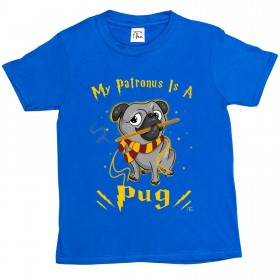 Child's Harry Potter Pug T-Shirt (Available in 6 colours)