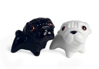 Pug Salt & Pepper Shaker Set