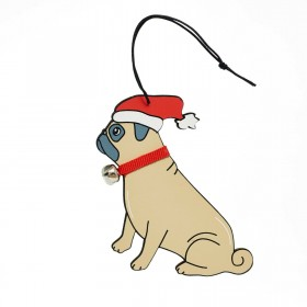 Pug Christmas Decoration