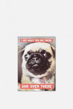 Funny Pug Fridge Magnet