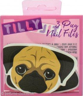 Cute Pug Nail File Set of Three