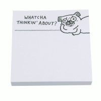 Pug Sticky Note Pad By Gemma Correll