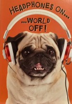 Cute & Funny Pug Birthday Card