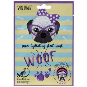 Pug Printed Super Hydrating Face Mask