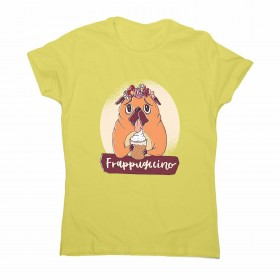 Frap Pug Ladies T Shirt (Available in 9 colours)