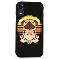 Meditating Pug iPhone Cover