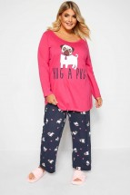 Plus Size Ladies Pj Set