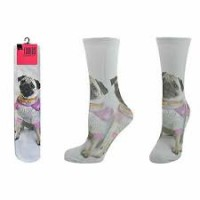 Ladies Socks One Pair (Size 4-7)