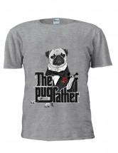 Funny Unisex Pug Father T Shirt (Available in 2 colours)