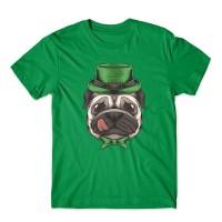 Unisex Pug St Paddy's T Shirt