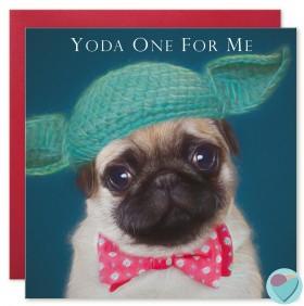 Cute Pug Valentines/Anniversary Card