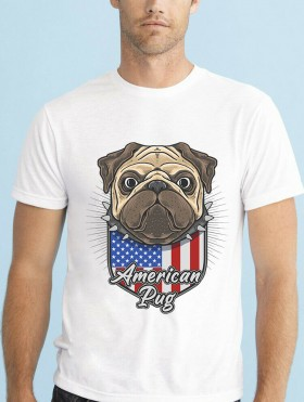 American Pug Unisex T Shirt