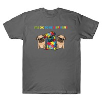 Exclusive Pug Kindness T Shirt (Available in 5 colours)
