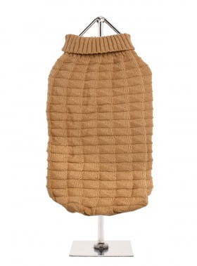 URBAN BEIGE RIBBED SWEATER