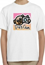 Kids Unisex Pug T Shirt