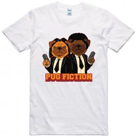 Pug Fiction Unisex T Shirt