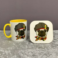 Cute Mug & Coaster Set