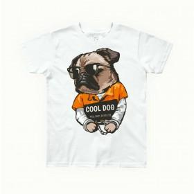 Unisex Kids Pug T Shirt