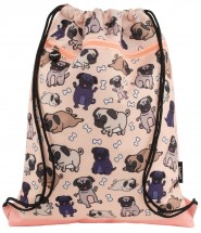 Unisex Pug Drawstring Bag