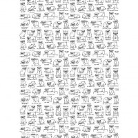 Pug Gift Wrap Sheets By Gemma Correll For All Occasions