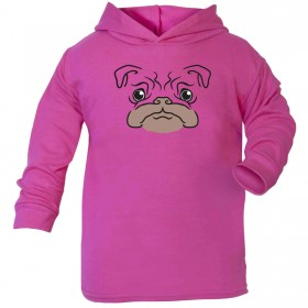 Cute Infants Pug Hoodie