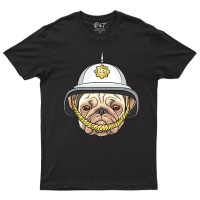 Child's Unisex Police Pug T-Shirt (Available in 6 colours)