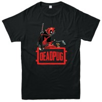 Kids Unisex Deadpug T Shirt