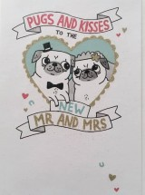 New Mr & Mrs Wedding Card By Gemma Correll