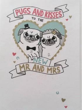 New Mr & Mrs Wedding Card By Gemma Correll
