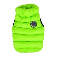 Puppia Neon Green Thermal Vest