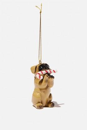 Christmas Pug Hanging Tree  Decoration