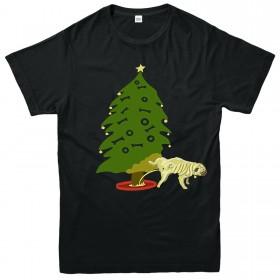 Funny Kids Unisex Christmas Pug T Shirt
