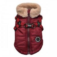 Puppia Red Fleece Lined Donavan Coat