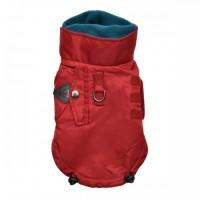 Puppia Red Fleece Lined Tomas Coat