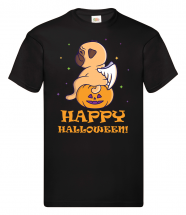 Teen Halloween Pug  Unisex T Shirt