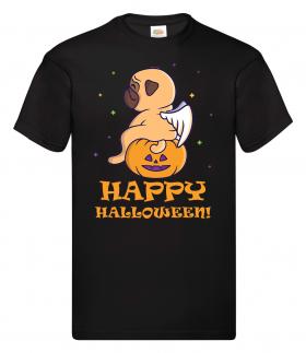 Teen Halloween Pug  Unisex T Shirt