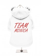 Team Monica Friends Fleece Lined Hoodie