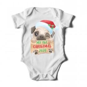 Festive & Cute Baby's First Christmas 2020 Unisex Baby Grow