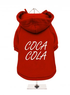 Coca Cola Christmas  Fleece Lined Hoodie (Available in 3 colours)