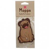 Cute Pug Car Vanilla Air Freshener
