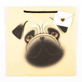 Funny Medium Pug Gift Bag For All Occasions