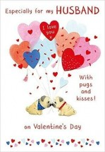 Pug Husband Valentines Day Card